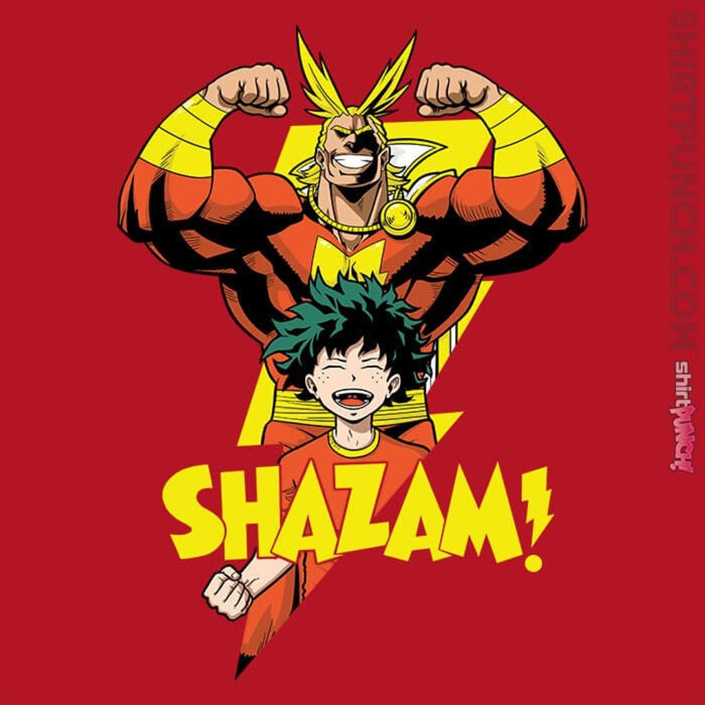 ShirtPunch: SHAZAM