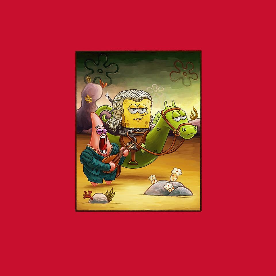 TeeFury: Sponge of Rivia