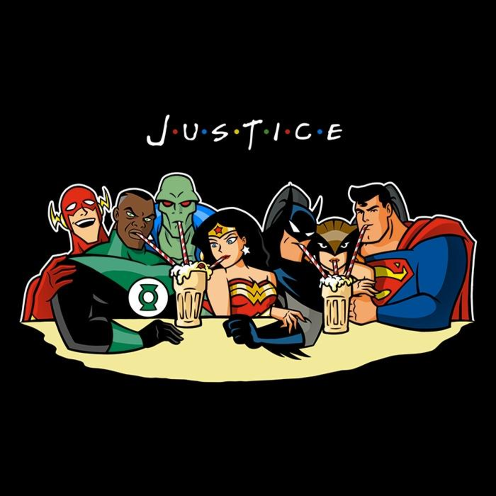 Once Upon a Tee: Justice Friends