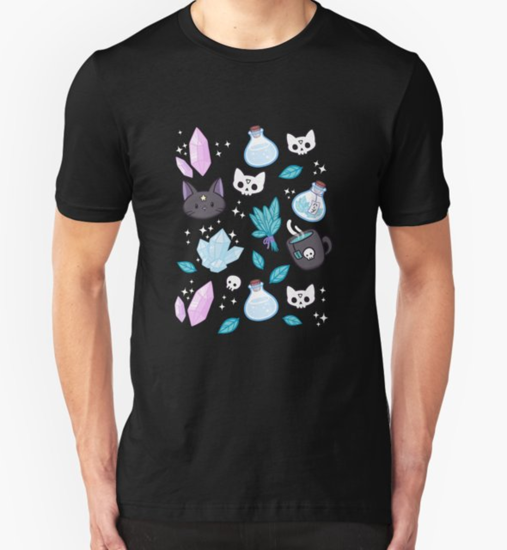 RedBubble: Herb Witch // Black