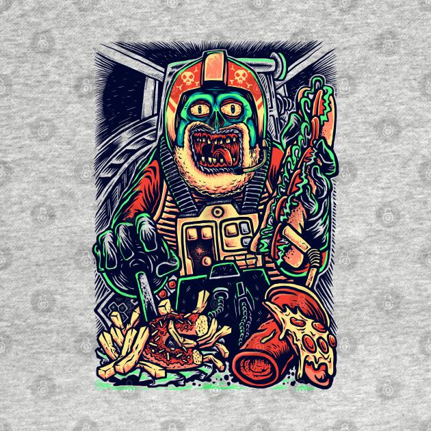 TeePublic: Star Wars Porkins X-Wing Fat Zombie Pilot