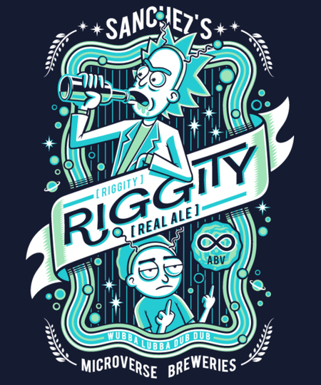 Qwertee: Riggity Real Ale