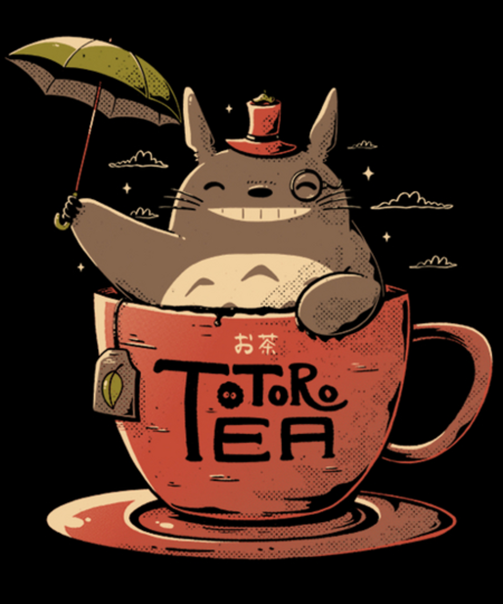 Qwertee: Totoro Tea