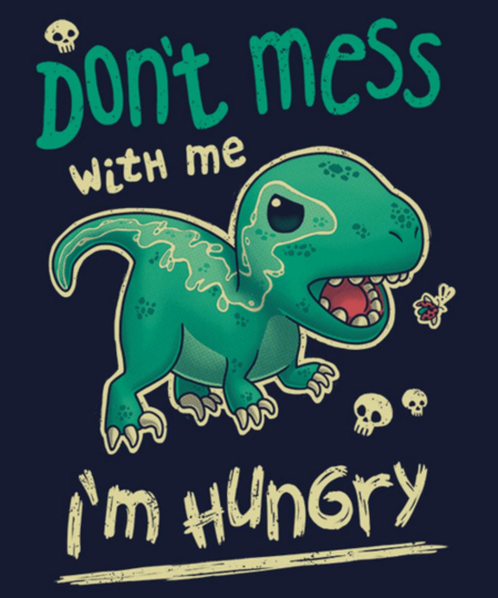 Qwertee: Hungry Raptor