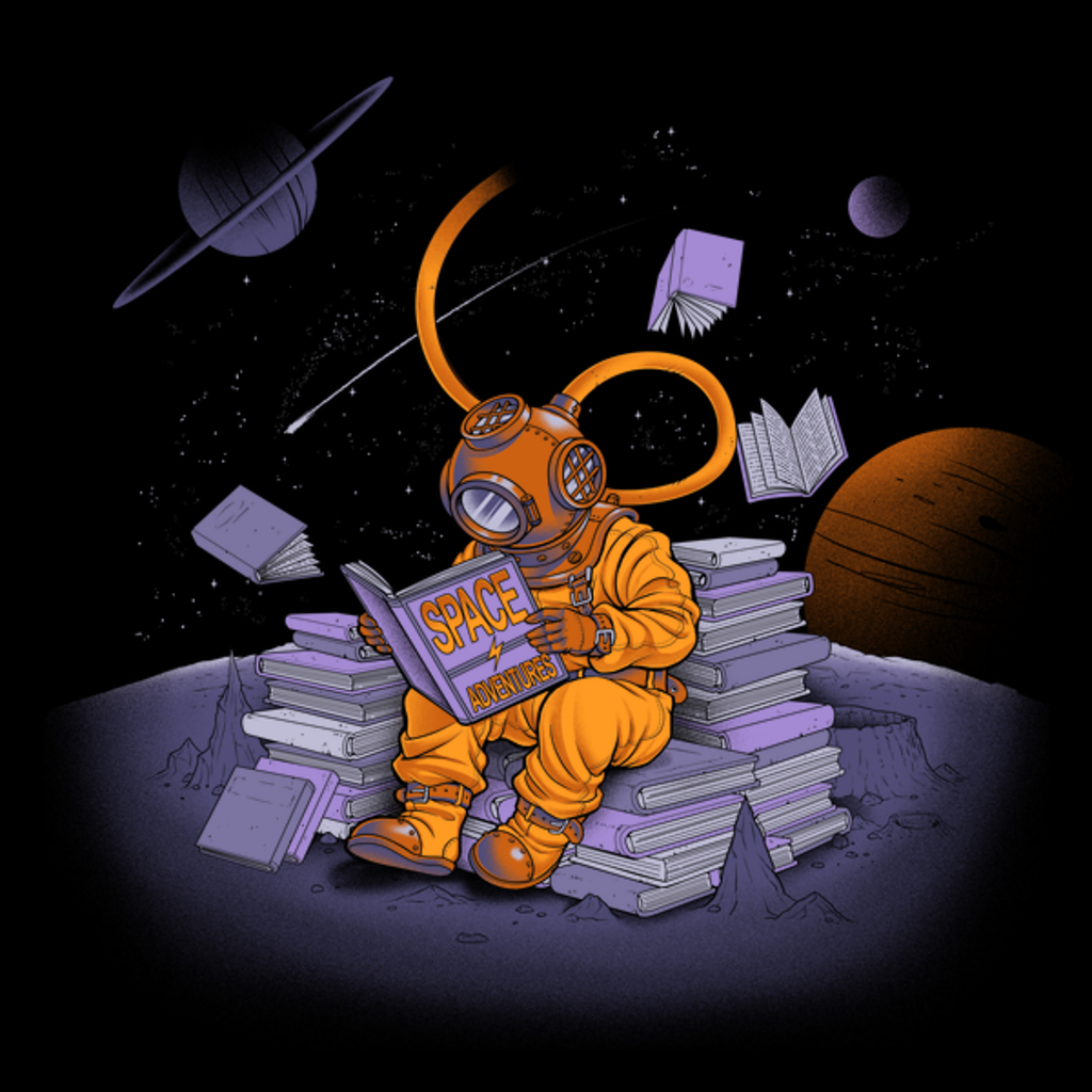NeatoShop: A reader lives a thousand lives - Diving Dress Space Adventures