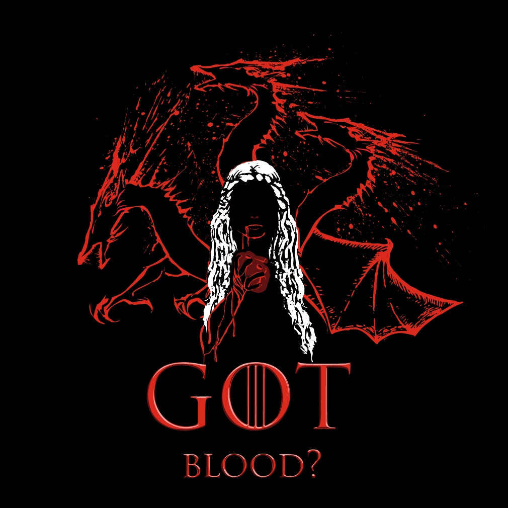 TeeTournament: GOT Blood?