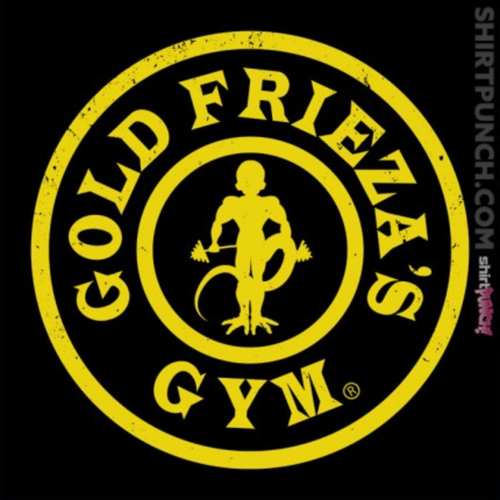 ShirtPunch: Gold Frieza's Gym