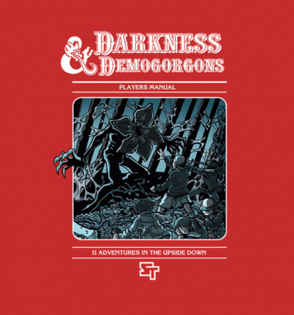 BustedTees: Darkness and Demogorgons