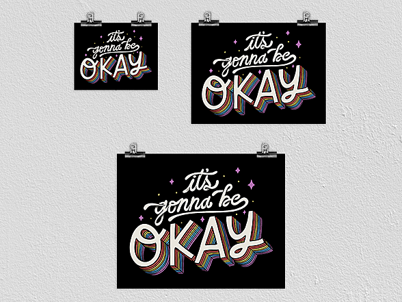 """Woot!: """"It's Gonna Be Okay"""" Poster"""