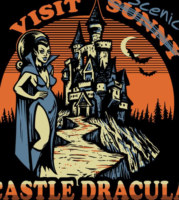 teeVillain: Castle Dracula