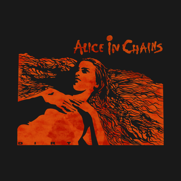 TeePublic: Alice in Chains Dirt colour