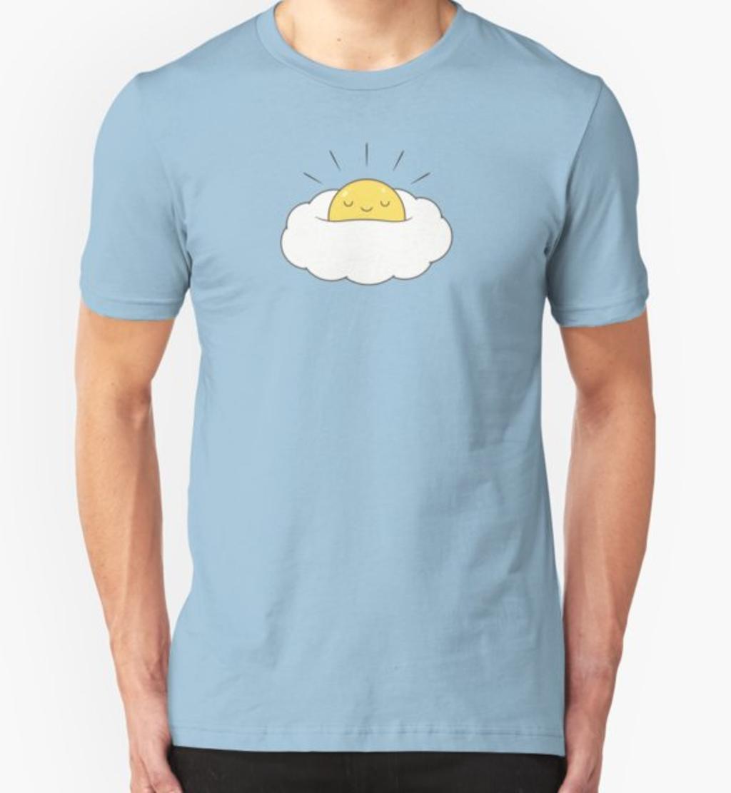 RedBubble: Sunshine for breakfast / Egg cloud