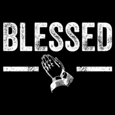 Textual Tees: Blessed