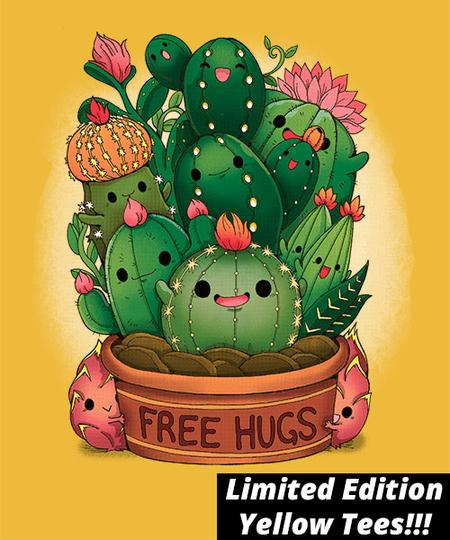 Qwertee: Free Hugs
