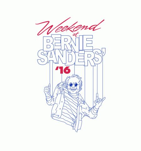 BustedTees: Weekend at Bernie Sanders'
