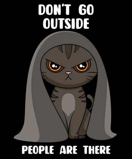 Qwertee: Don't Go Outside