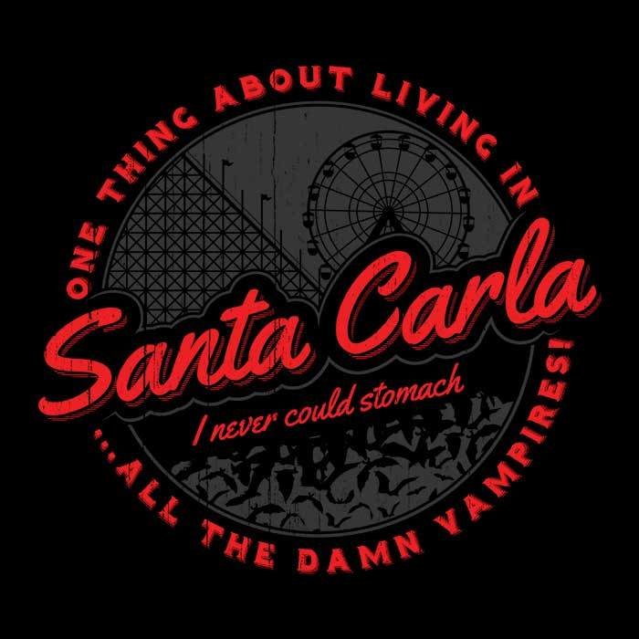 Once Upon a Tee: Living in Santa Carla