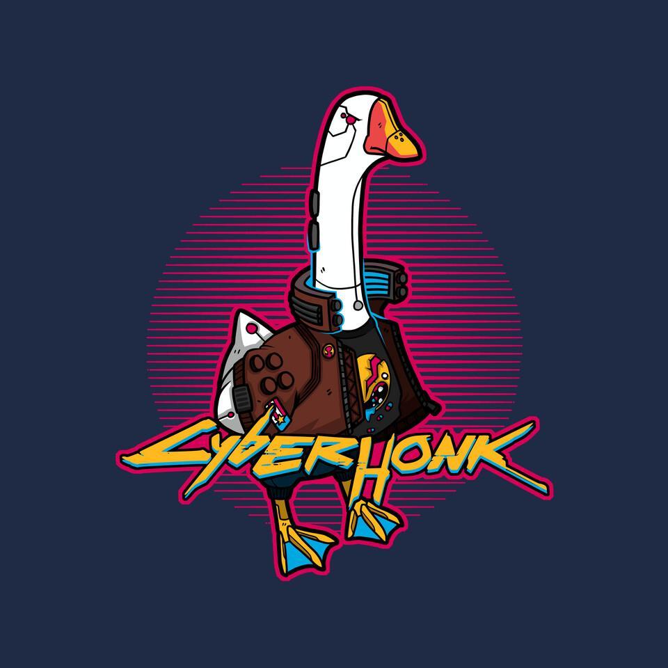 TeeFury: Cyberhonk