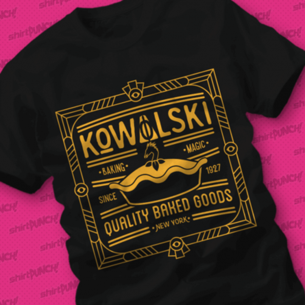 ShirtPunch: Kowalski Quality Baked Goods