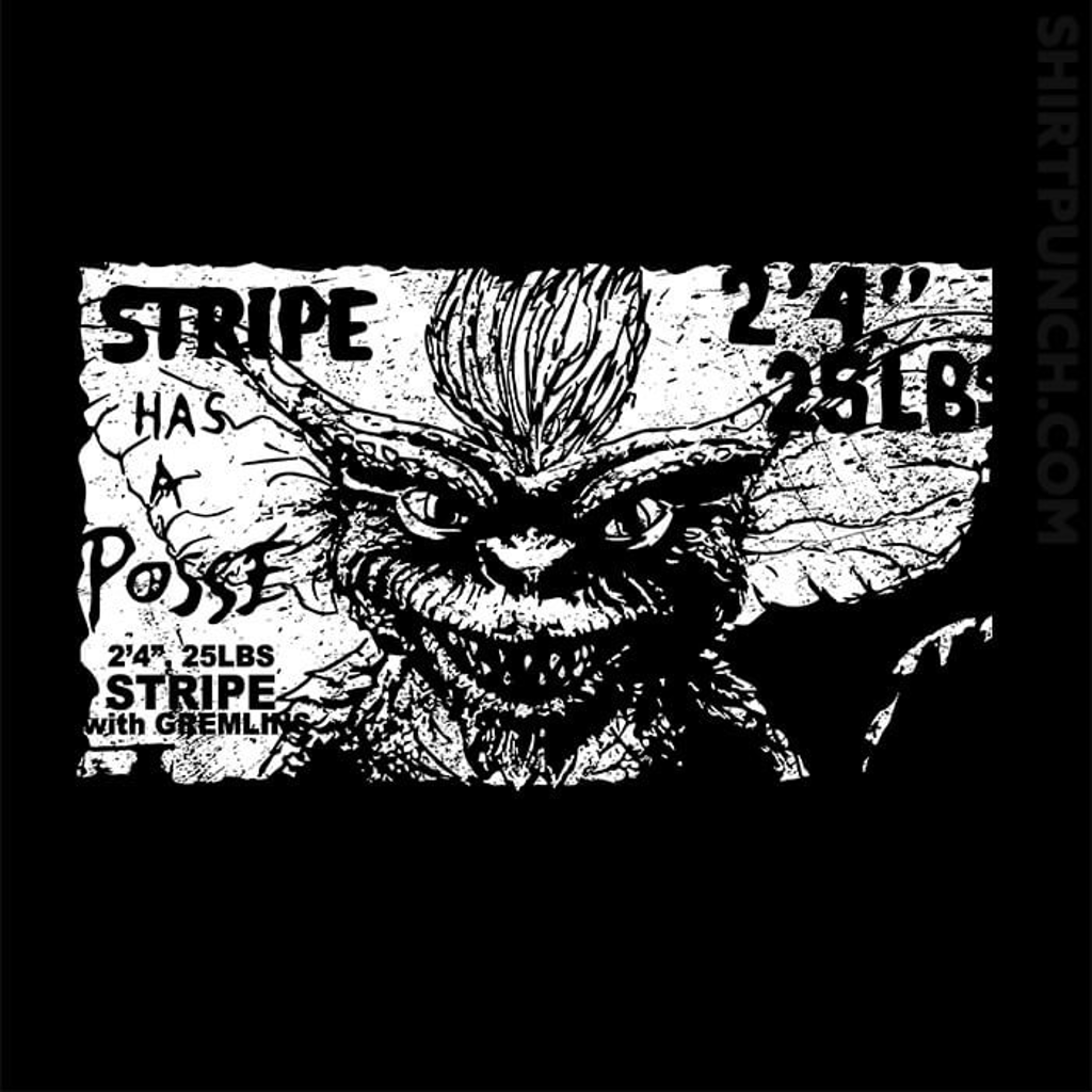 ShirtPunch: Stripe Has A Posse