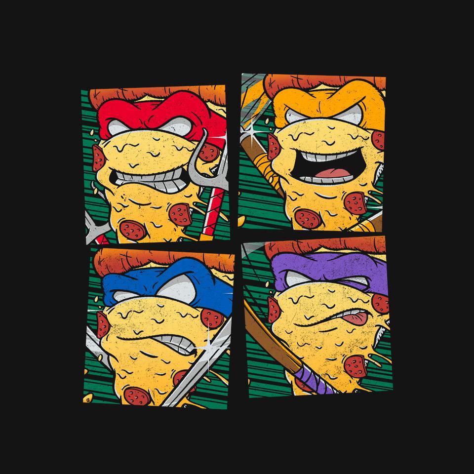 TeeFury: Ninja Slices
