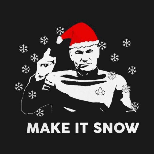 TeePublic: Make it snow T-Shirt
