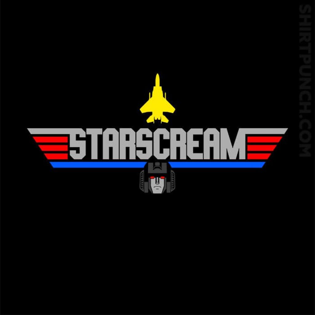 ShirtPunch: Top Starscream