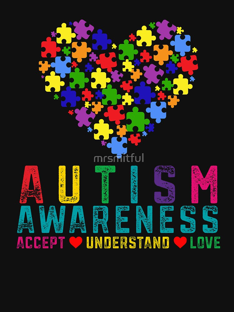 RedBubble: Autism Awareness Day Month Autism Mom Autism Dad