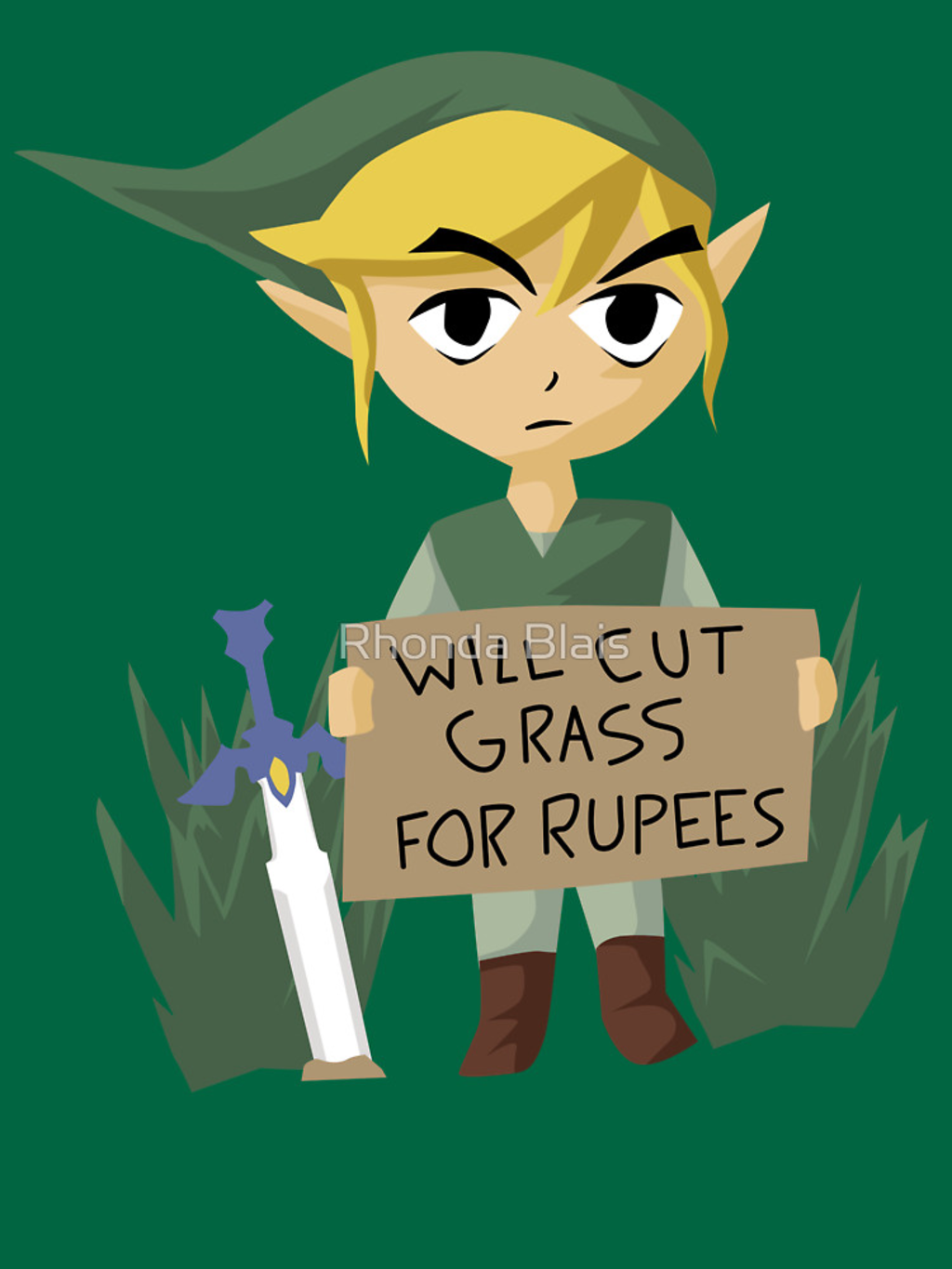 RedBubble: Looking For Work - Legend of Zelda