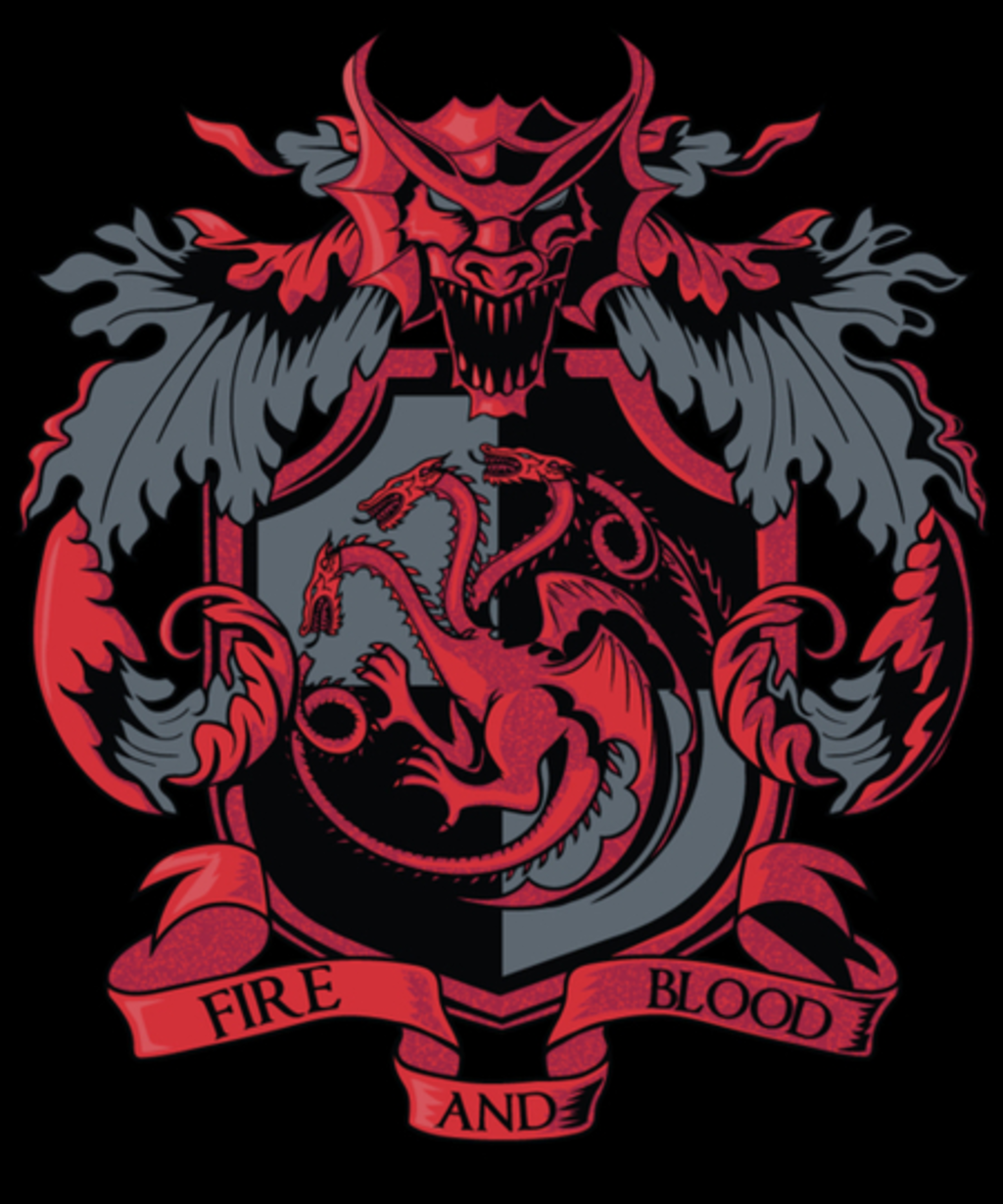 Qwertee: I belong to the house Targaryen