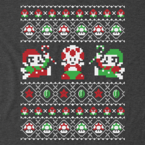 Pop-Up Tee: Super Christmas Bros