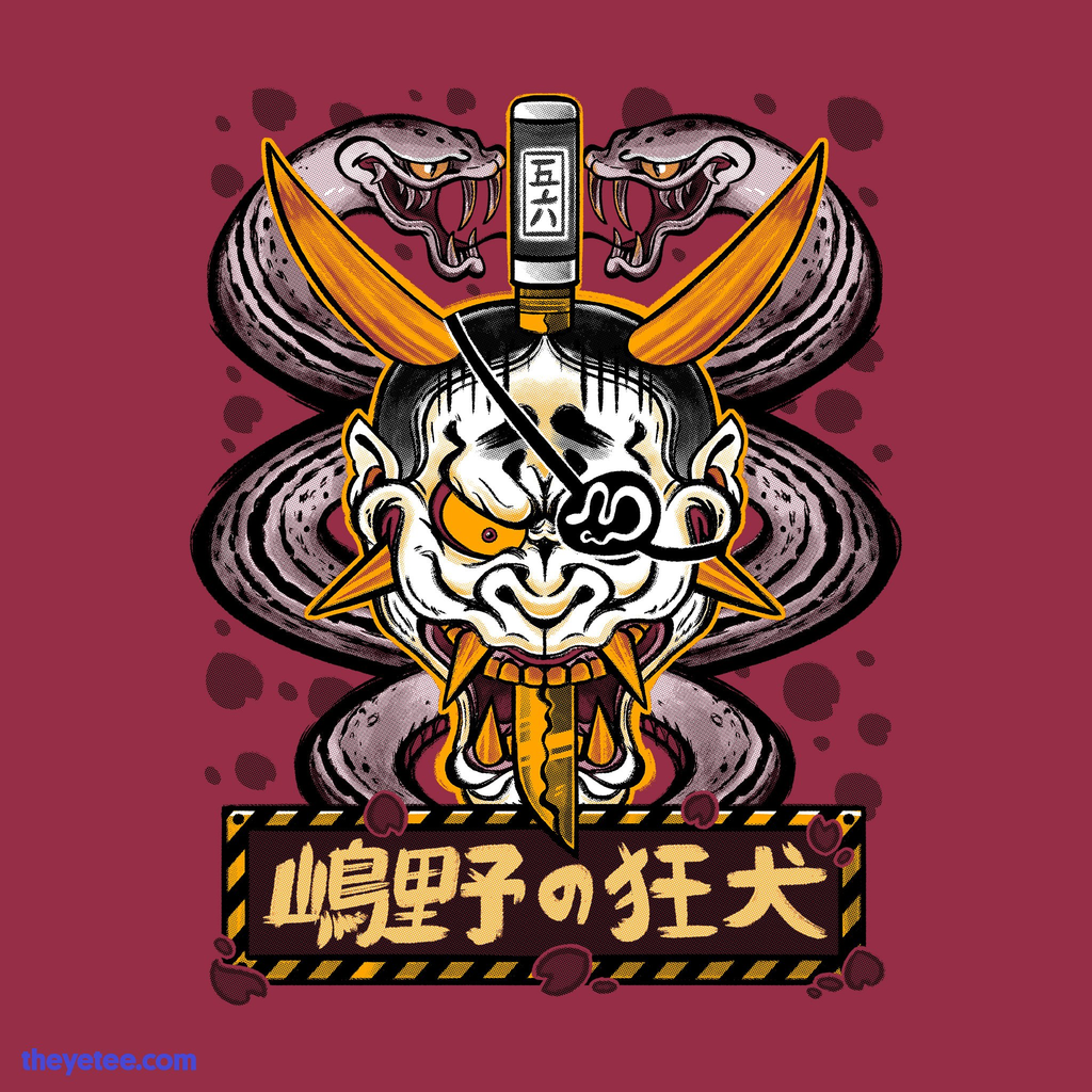 The Yetee: MAD DOG 56