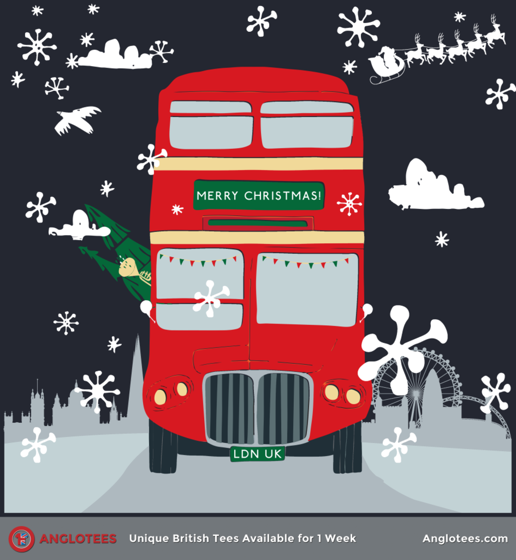Anglotees: A Very London Christmas