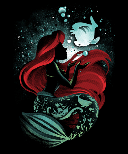 Qwertee: The Song of the Mermaid