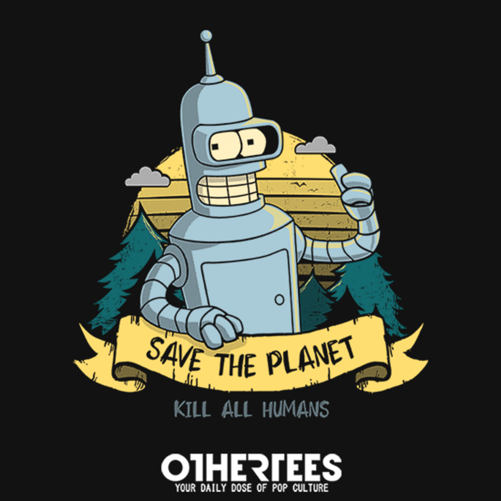OtherTees: Robot Ecology