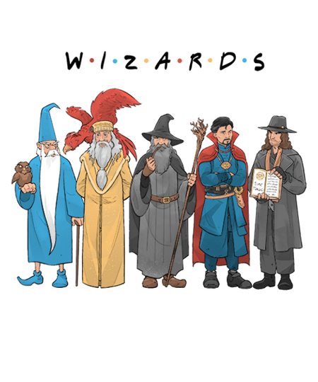 Qwertee: Wizards