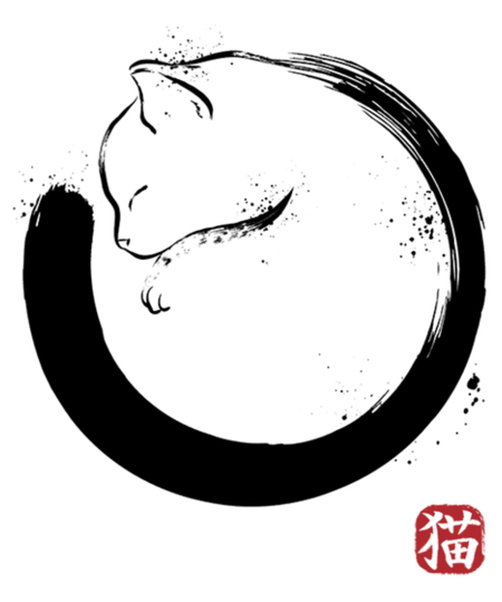 Qwertee: Purrfect Circle