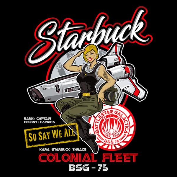 NeatoShop: Starbuck Colonial Fleet Pilot
