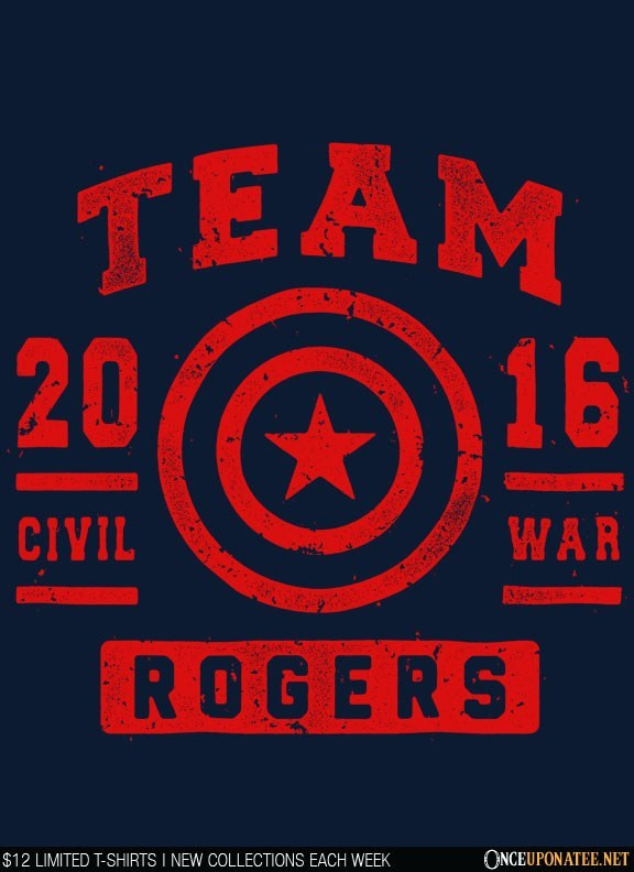 Once Upon a Tee: Team Rogers