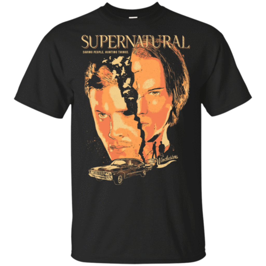 Pop-Up Tee: Supernatural