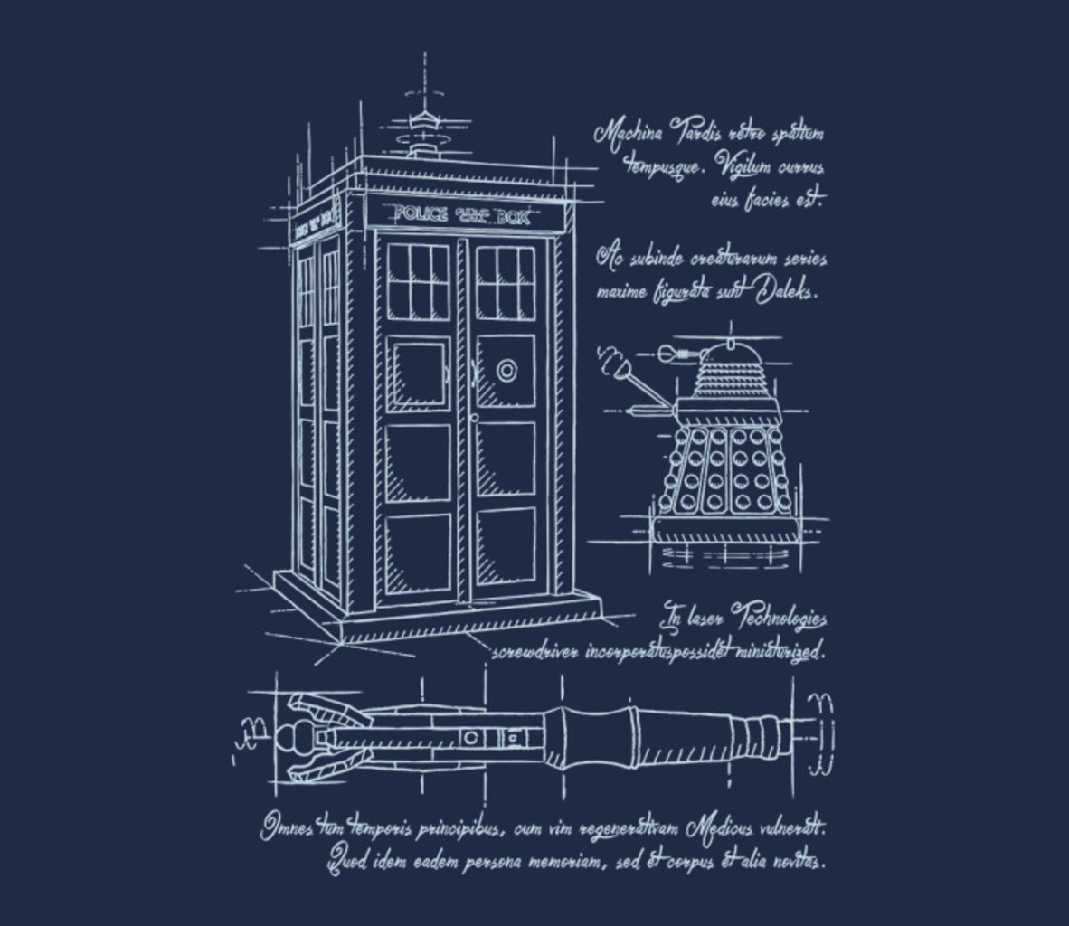 TeeFury: Time Travel Schematic
