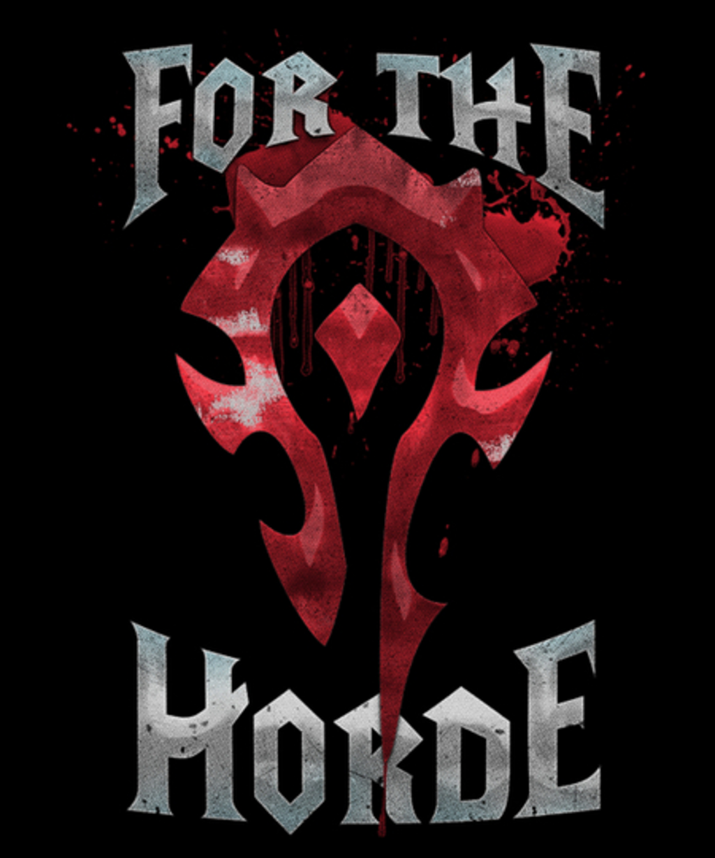 Qwertee: For the Horde