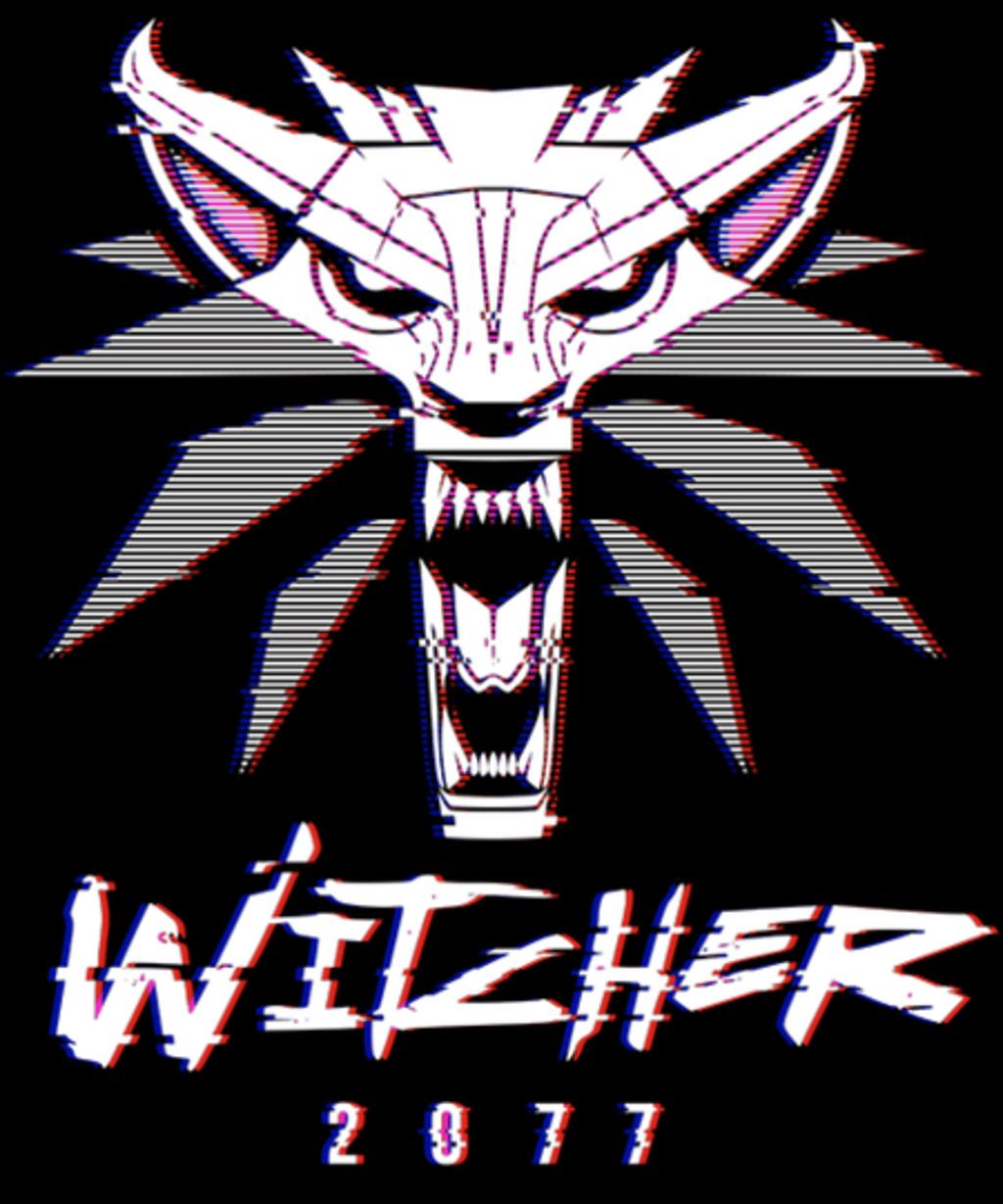 Qwertee: White Wolf 2077