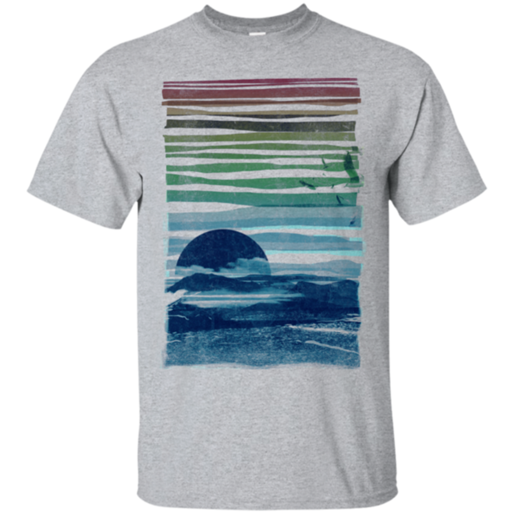 Pop-Up Tee: Sea Landscape