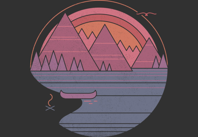 Design by Humans: The Mountains Are Calling