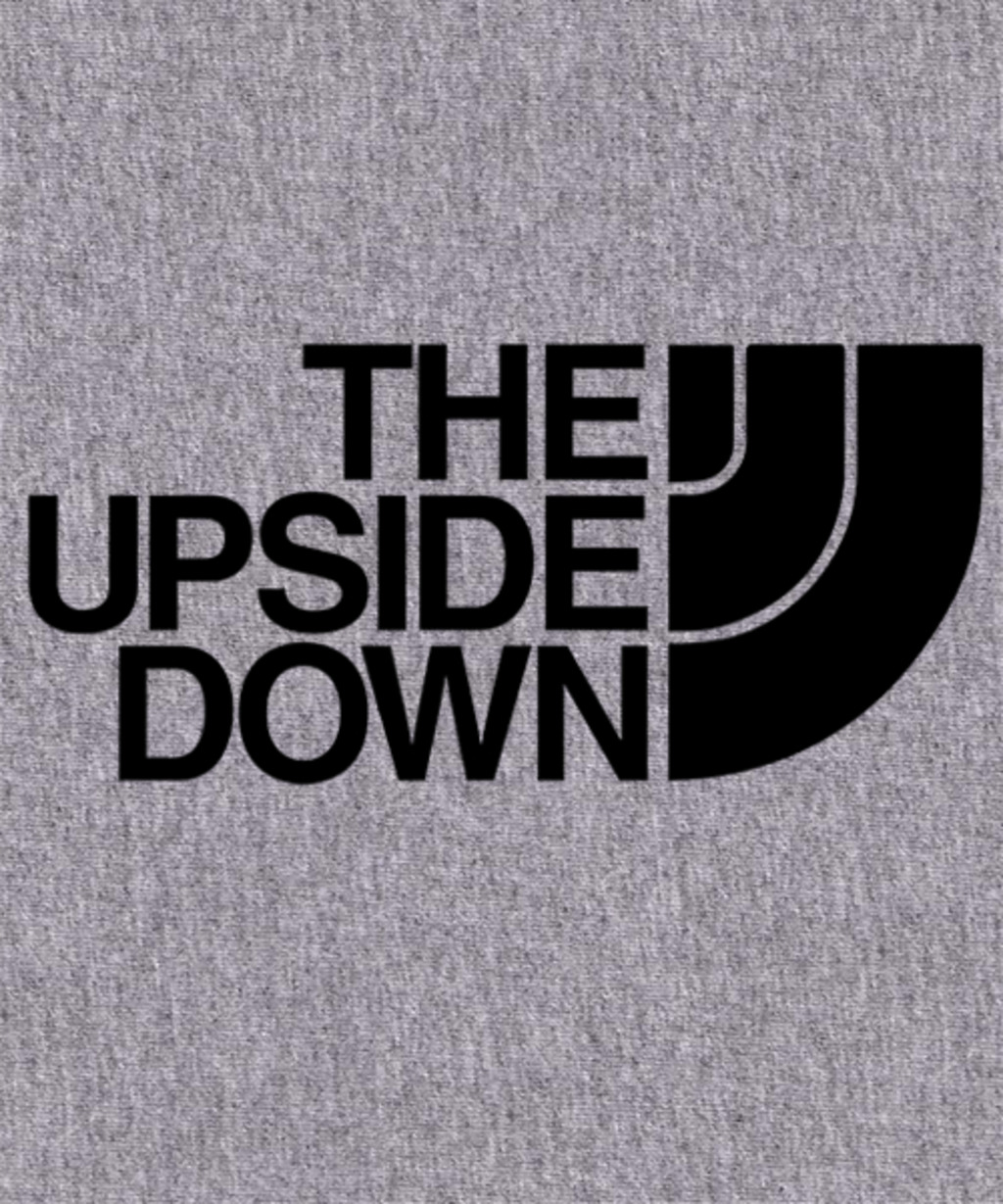 Qwertee: THE UPSIDE DOWN