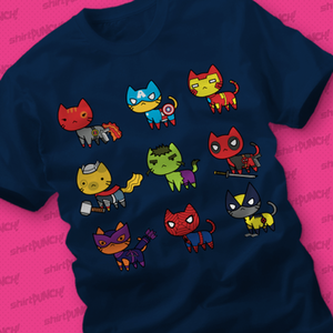 ShirtPunch: Avenging Cats