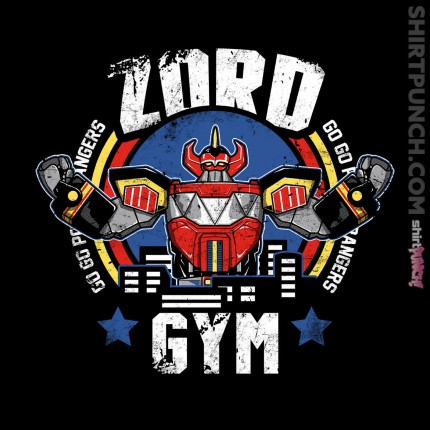 ShirtPunch: Zord Gym