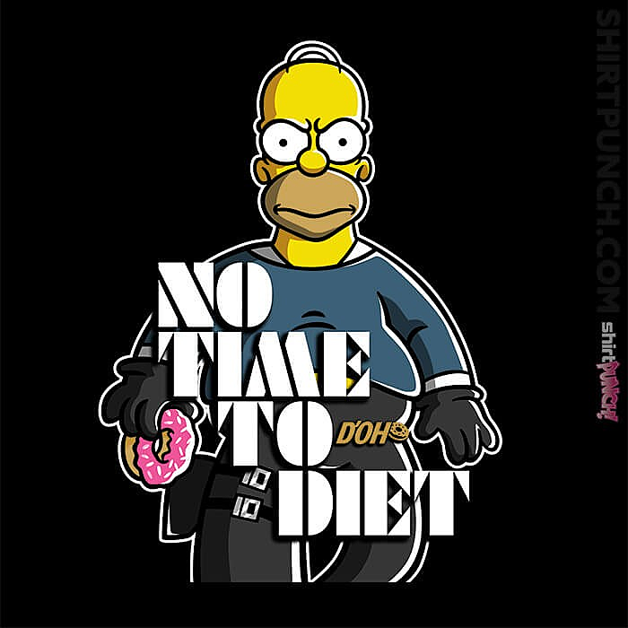 ShirtPunch: No Time To Diet