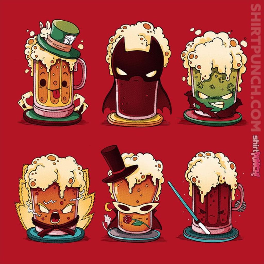 ShirtPunch: Cosplay Beer
